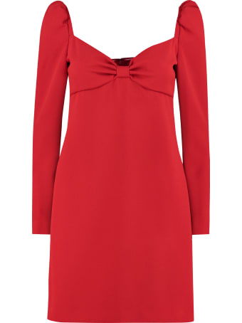 RED Valentino Crepe Mini Dress