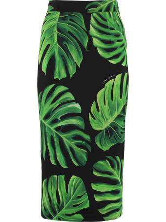 Dolce & Gabbana Printed Pencil Skirt