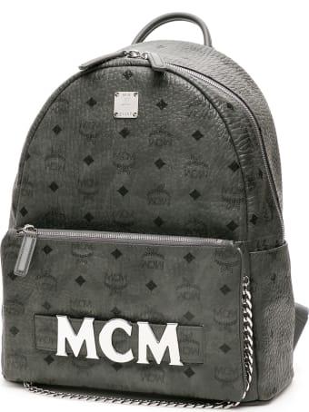 MCM Trilogie Stark Visetos Backpack