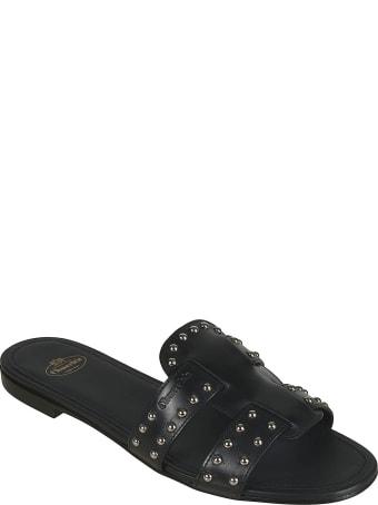 Church's Dee Dee Met Studded Flat Sandals