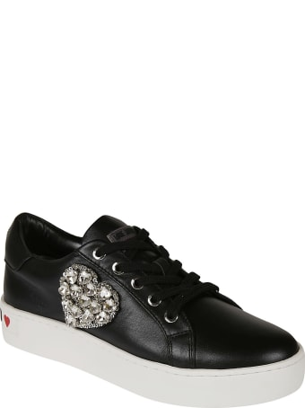 Love Moschino Heart Embellished Sneakers