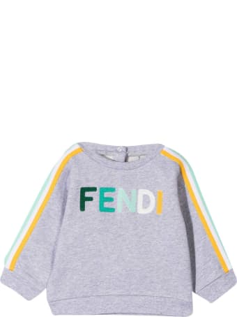 Fendi Gray Sweatshirt