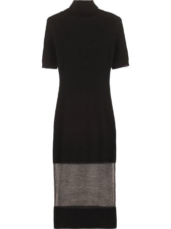 Elisabetta Franchi Celyn B. Turtleneck Sweater-dress