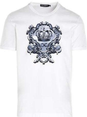 Dolce & Gabbana 'dg Corona' T-shirt