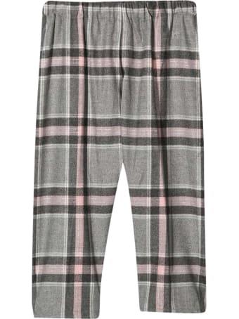 Il Gufo Tartan Trousers