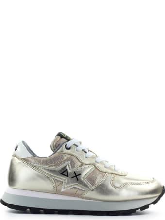 Sun 68 Sun68 Ally Star Gold Sneaker