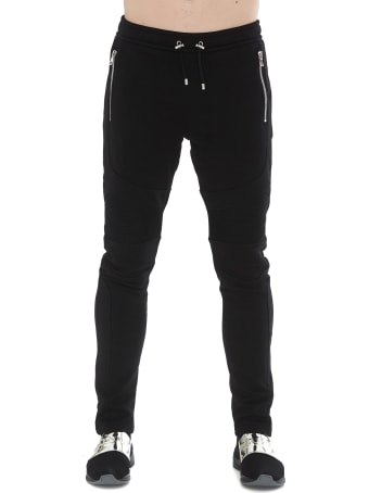 Balmain Sweatpants With Logo Coin