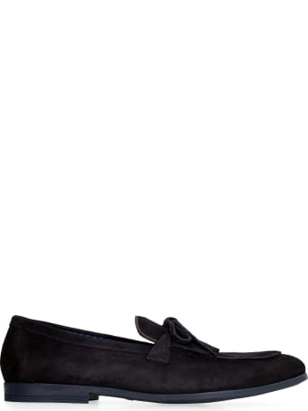 Doucal's Suede Leather Loafers