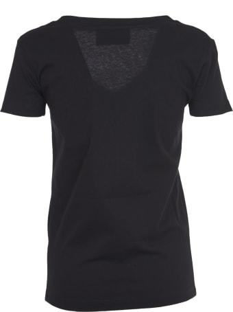 John Richmond Black T-shirt With Studs