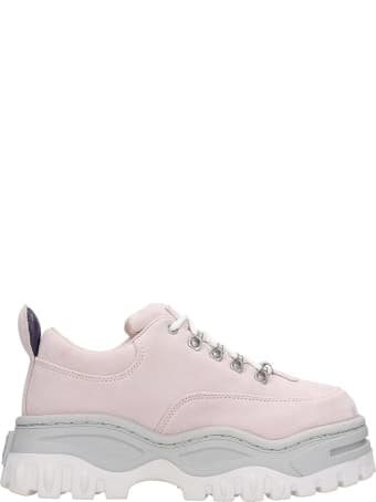 Eytys Angel Sneakers In Rose-pink Suede