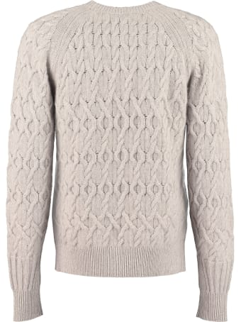 Agnona Cable Knit Pullover