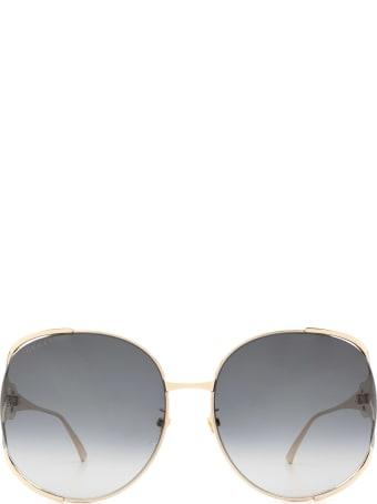 Gucci Gucci Gg0225s Gold Sunglasses