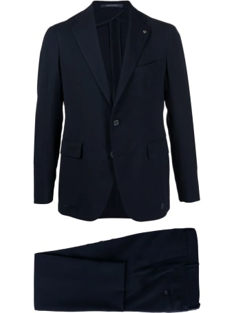 Tagliatore Single-breasted Two Piece Suit