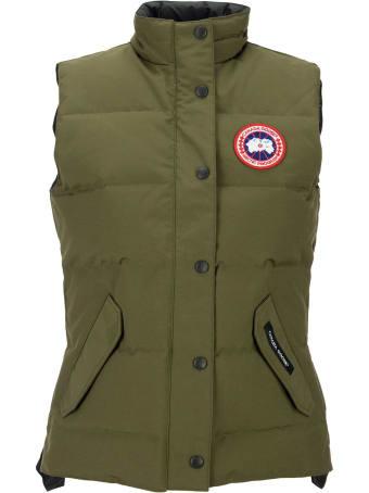 Canada Goose Freestyle Gilet Jacket Military Green