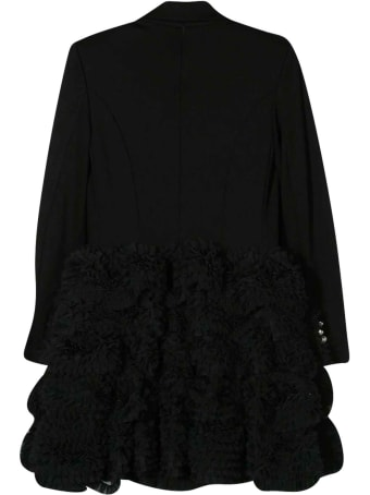 Balmain Black Teen Dress