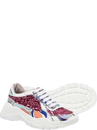Emilio Pucci Multicolor Sneakers Teen