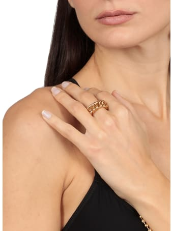 AMBUSH Gold Chain Ring
