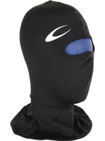 Marine Serre Branded Second Skin Zipped Balaclava