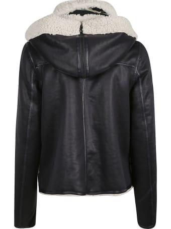 urbancode Zipper And Toggle Lock Reversible Jacket