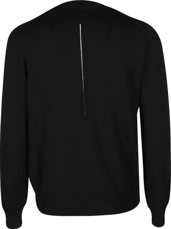 Alexander McQueen Black Wool Jumper