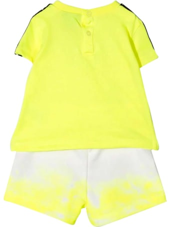 Diadora Yellow Fluo Diadora Kids Set