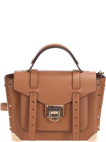 "Michael Kors Michael ""Michael"" Kors Manhattan leather shoulder bag"