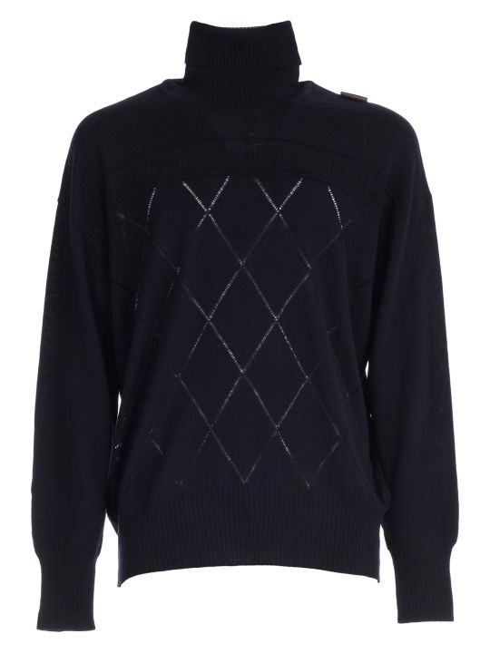 Versace Collection Sweater L/s Turtle Neck