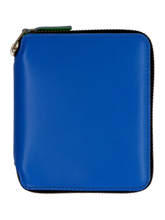 Comme des Garçons Wallet Leather Zip Around Wallet