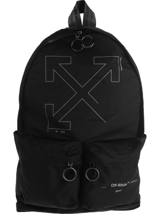 Off-White Off White Unfinished Arrow Backpack