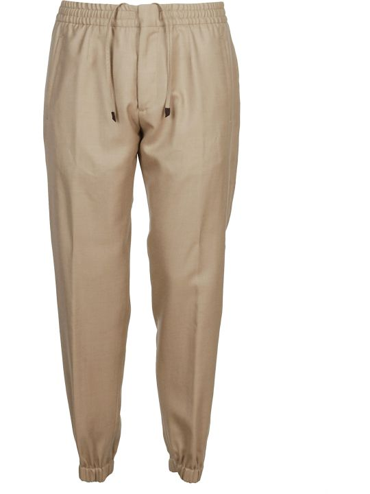 Ermenegildo Zegna Elasticated Cuffs Trousers