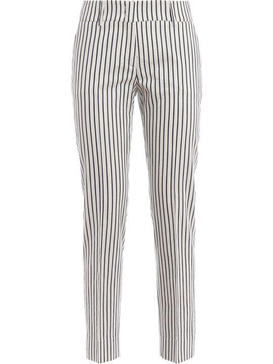 Piazza Sempione Striped Trousers