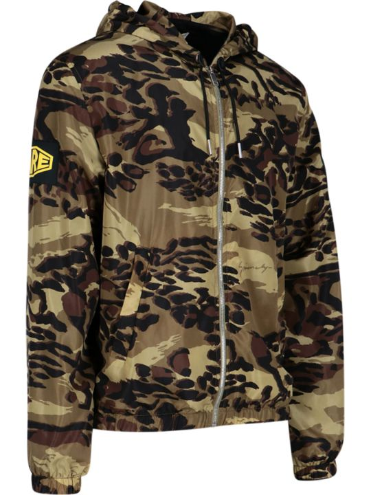 Givenchy Camouflage Anorak