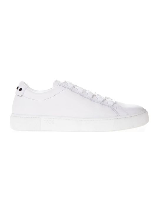 Tod's White Leather Sneakers