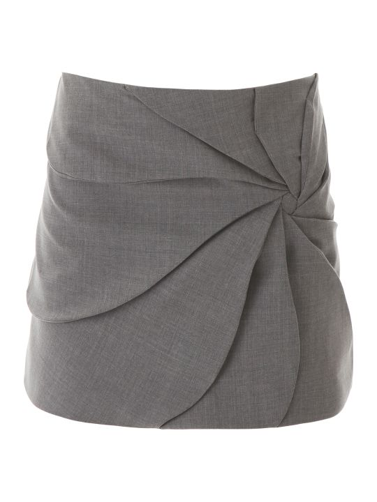 Coperni Draped Mini Skirt