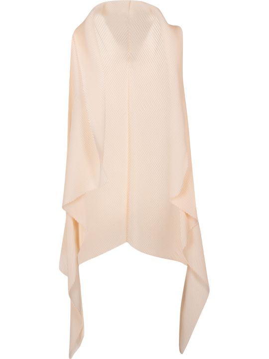 Emporio Armani Pleated Long Open Vest