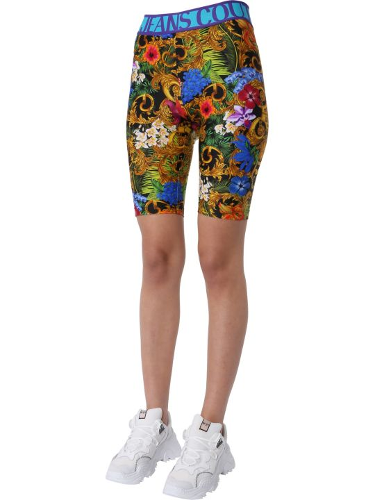 Versace Jeans Couture Printed Shorts