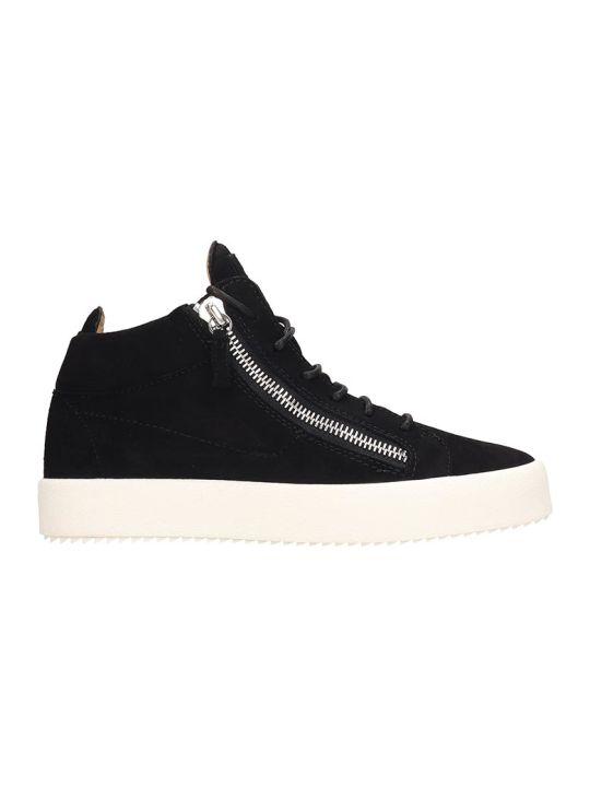 Giuseppe Zanotti Kriss Sneakers In Black Suede