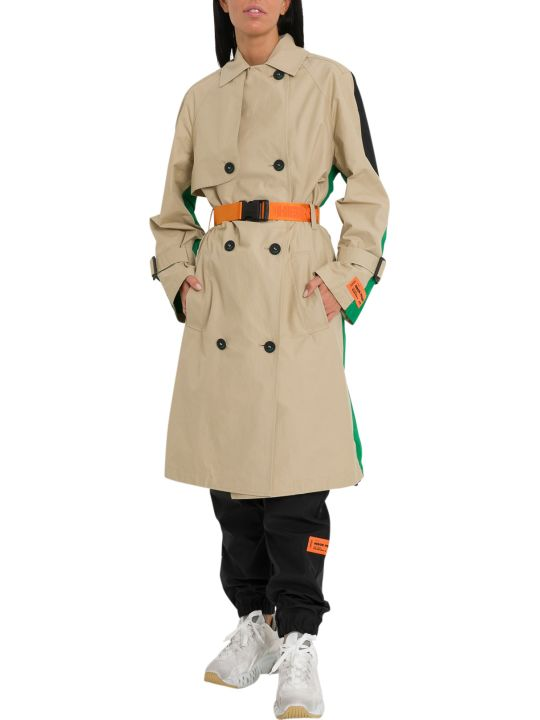 HERON PRESTON Colorblock Trench