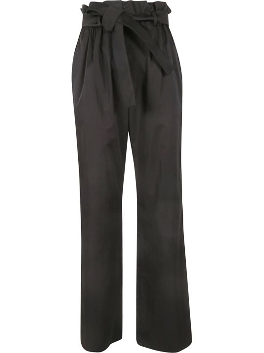 Moschino Ruffled Trim Trousers