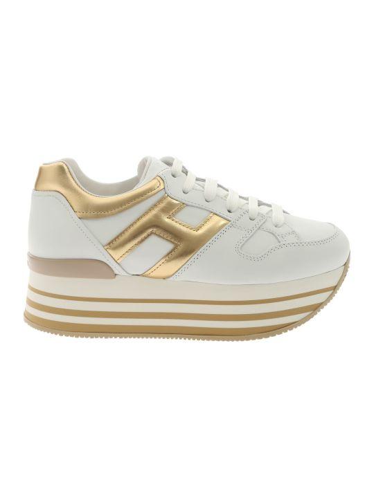 Hogan Maxi H222 Platform Sneakers