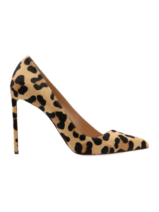 Francesco Russo 'leopard Pony' Shoes