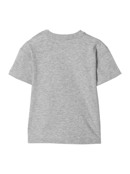 Gucci Grey T-shirt With Multicolor Press