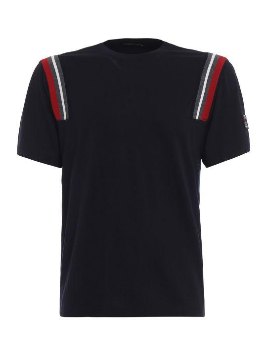 Z Zegna Contrast Stripe T-shirt