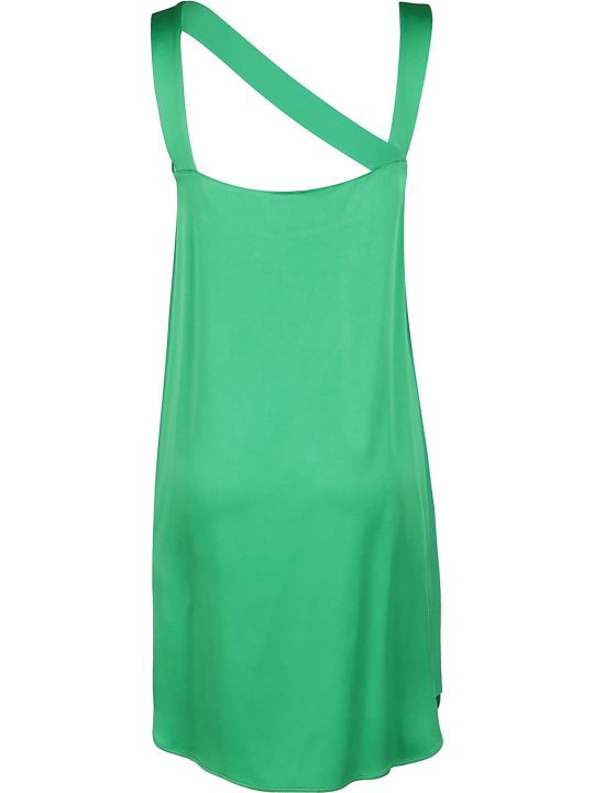 Iceberg Green Viscose Blend Dress