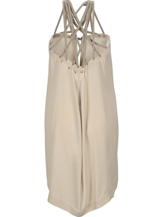 Rick Owens Megalace Mini Slip Dress