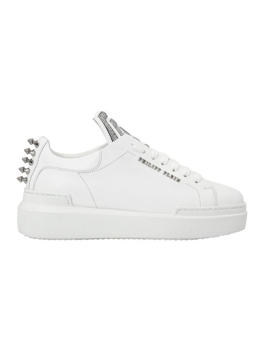 Philipp Plein White Lo-top Sneakers Statement