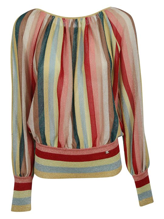 Elisabetta Franchi Celyn B. Elisabetta Franchi For Celyn B. Striped Blouse