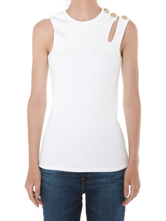 Balmain 3 Buttons Asymmetric Top