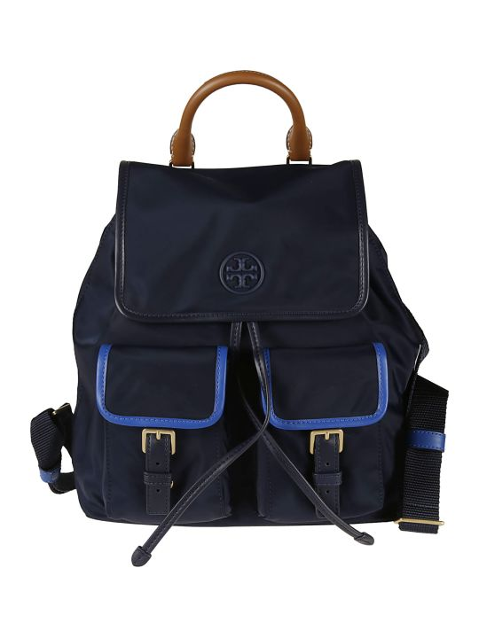Tory Burch Perry Nylon Flap Backpack