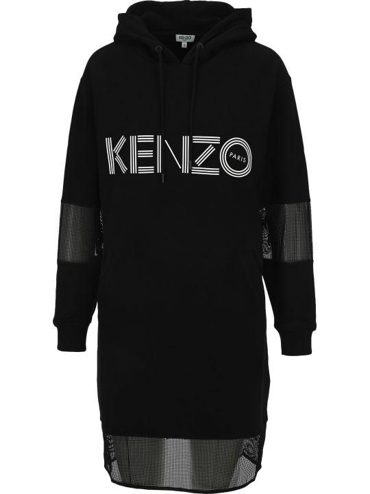 Kenzo Kenzo Logo Sweatshirt Dress